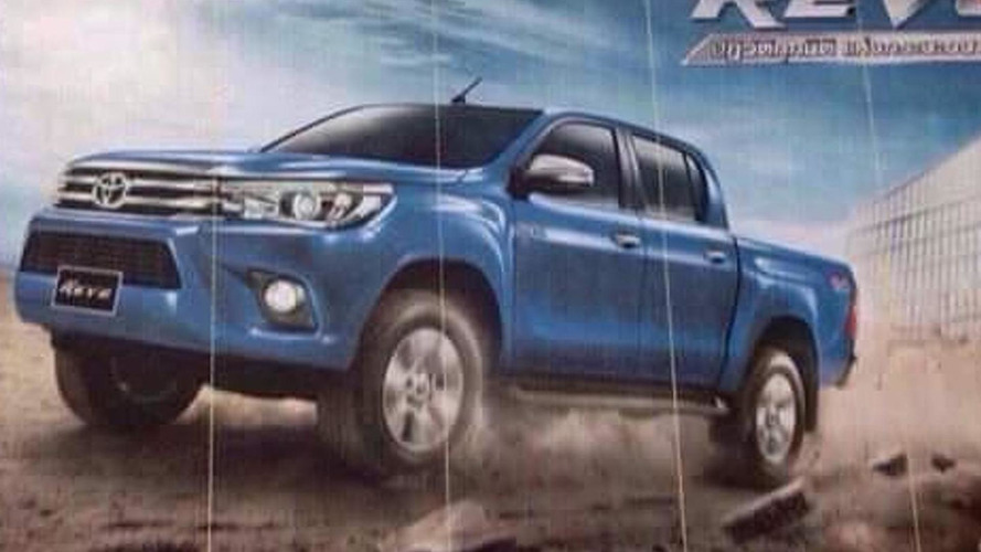 New Toyota Hilux leaked?