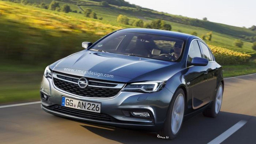2016 Opel Insignia rendering previews sleek and sporty sedan