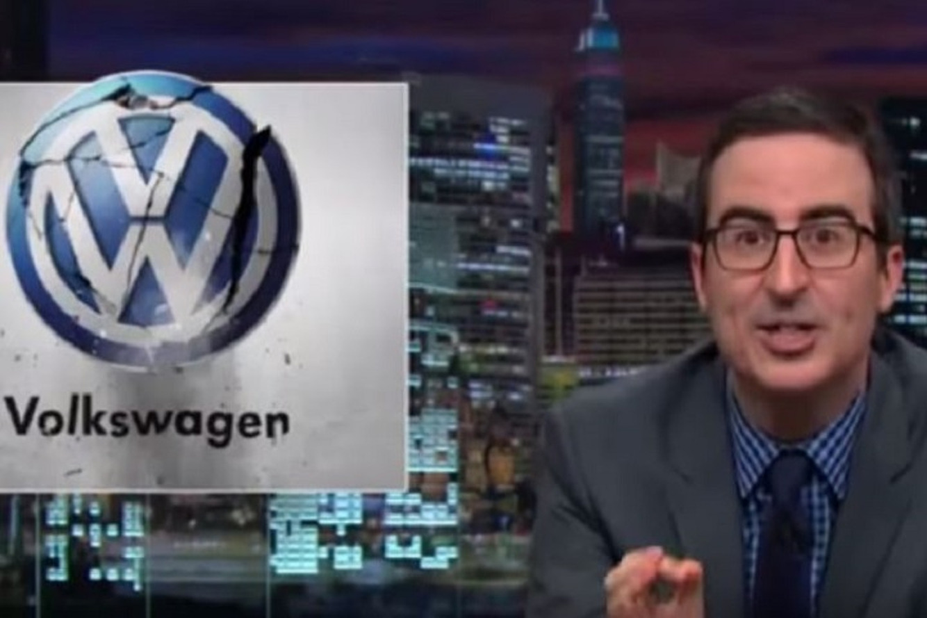 Watch John Oliver Hilariously Cover the Volkswagen Dieselgate Scandal