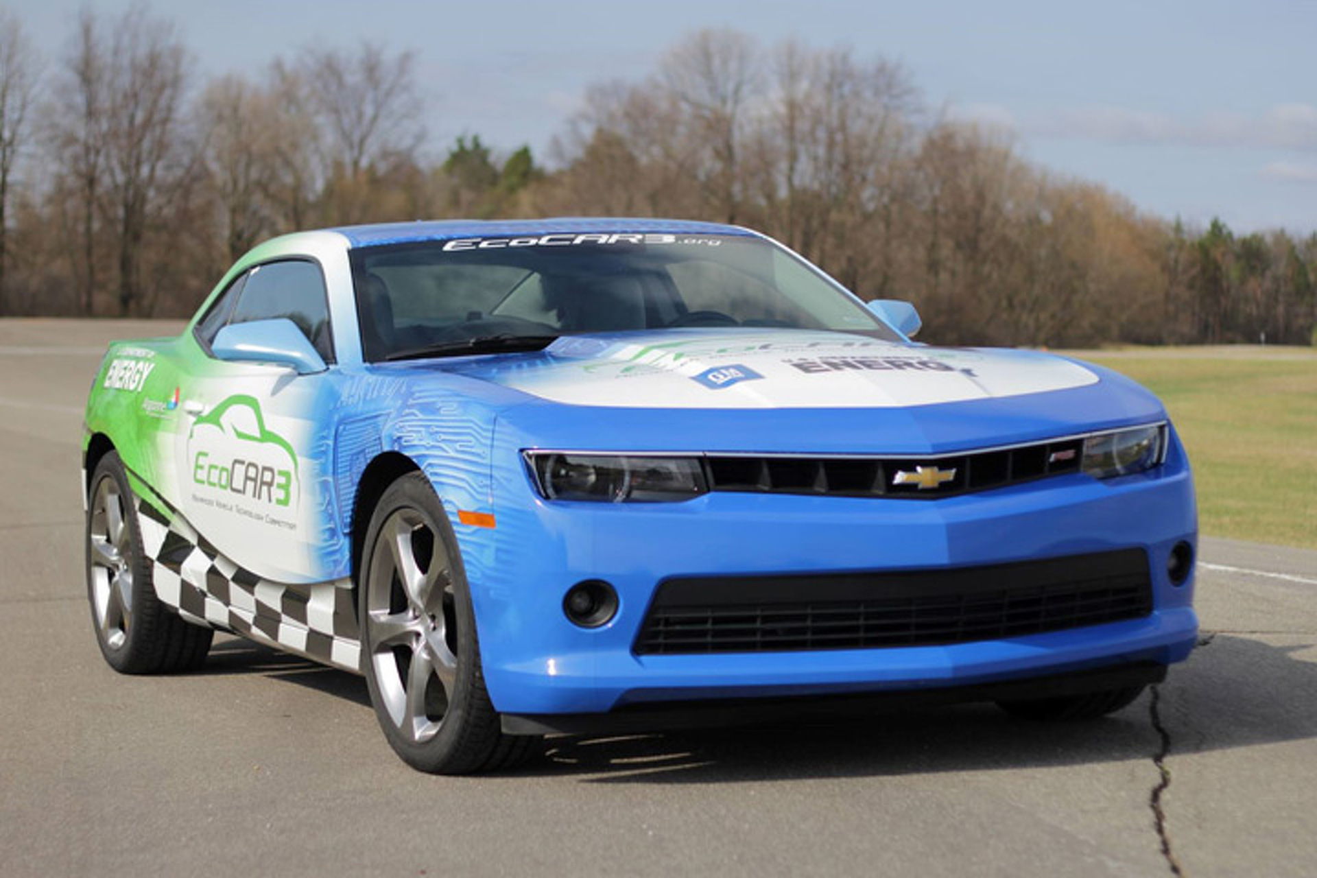Chevy Challenges Students to Build Electric and Hybrid Camaros [w/Video]