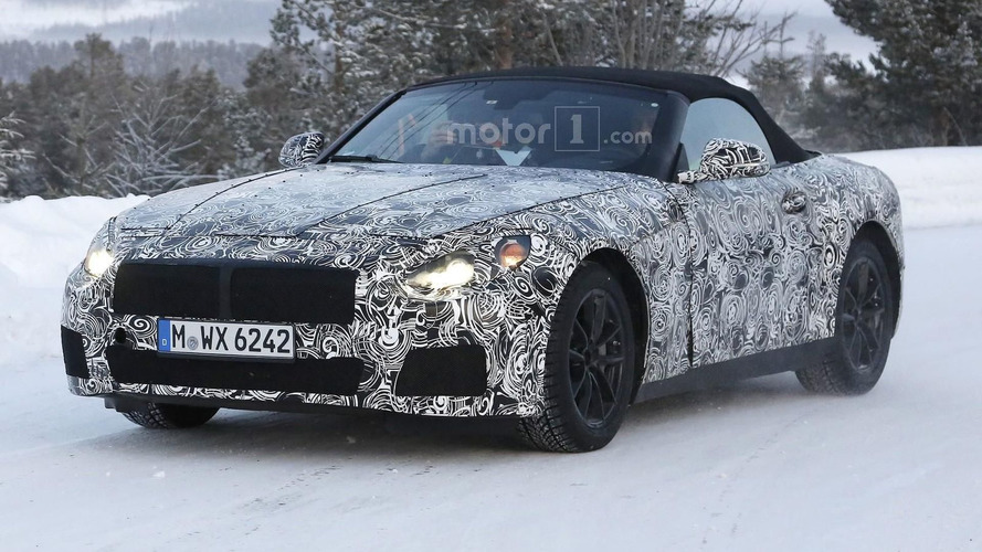 BMW Z5 spied up close