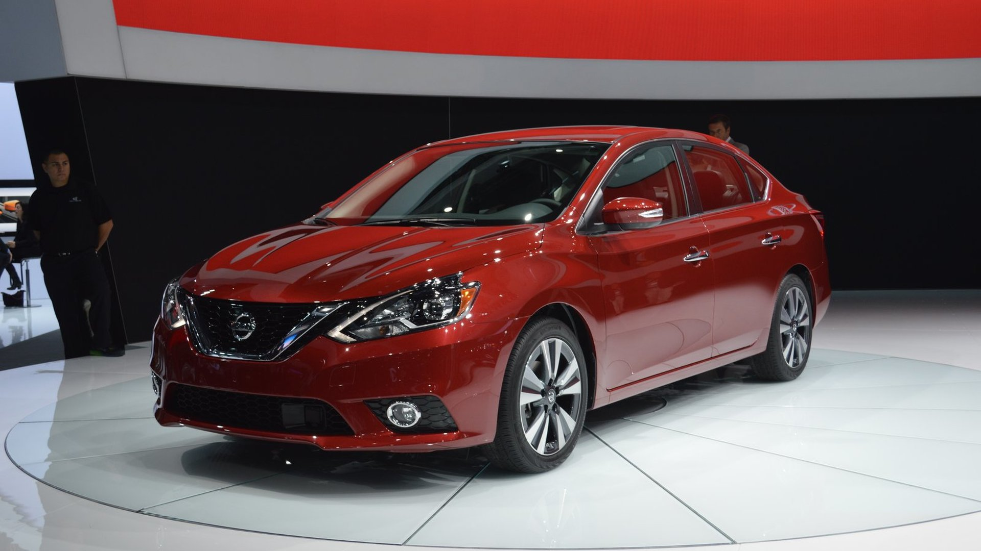 2016 nissan sentra facelift bows in la. Black Bedroom Furniture Sets. Home Design Ideas