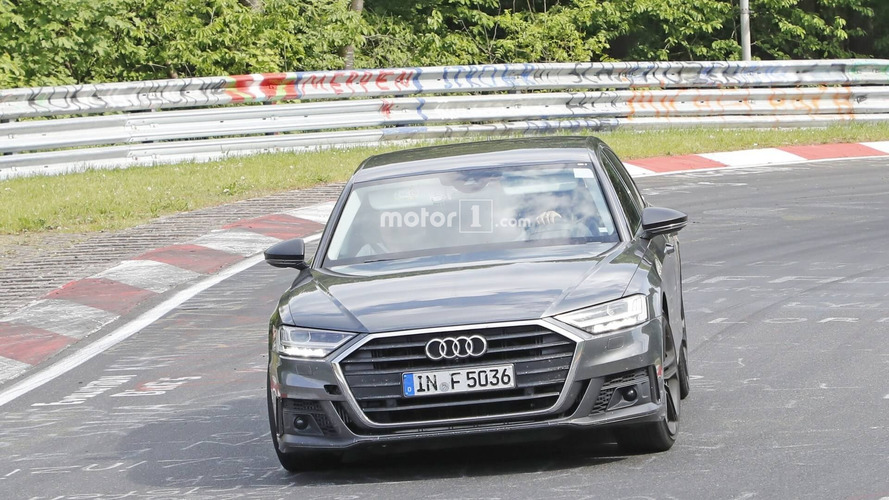 New Audi S8 spotted at the Nürburgring