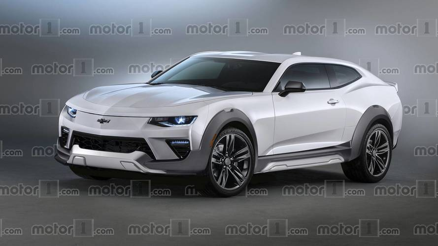 Imagine A Chevy Camaro EV SUV To Take On Ford's Mustang ...