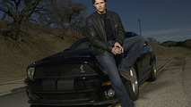 KITT 3000 and actor Justin Bruening