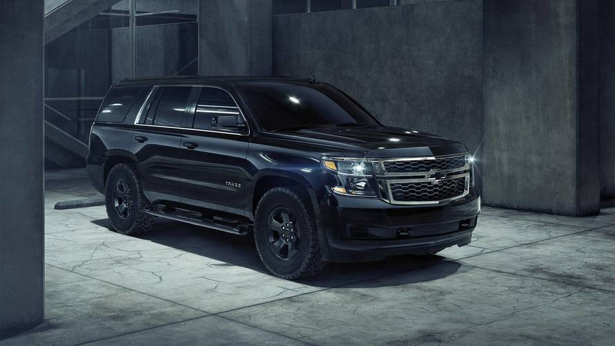 2018 Chevrolet Tahoe Custom Midnight Edition Motor1 Com