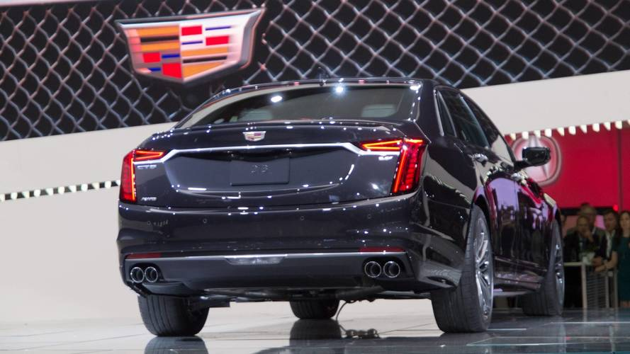 Ct6 For Sale >> 2019 Cadillac CT6 V-Sport at the 2018 New York Auto Show photo