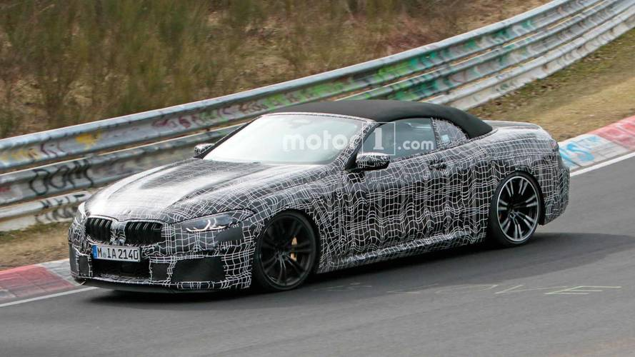 BMW M8 Convertible Spied Buttoned Up Lapping The Nürburgring