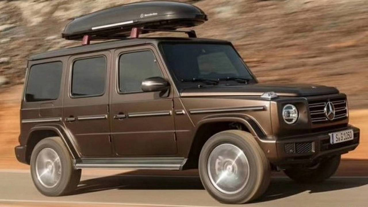 2018 Mercedes G Cl Leaked Official Images Motor1 Photos