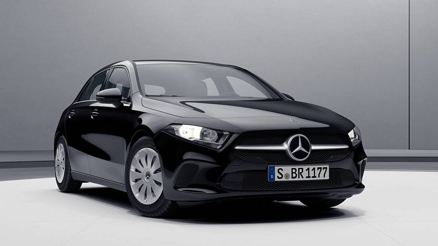 New Mercedes A-Class basic, AMG Line, Night Package versions