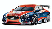 Volvo S60 first illustrations, Belgian Touring Car Series, 2010 01.04.2010