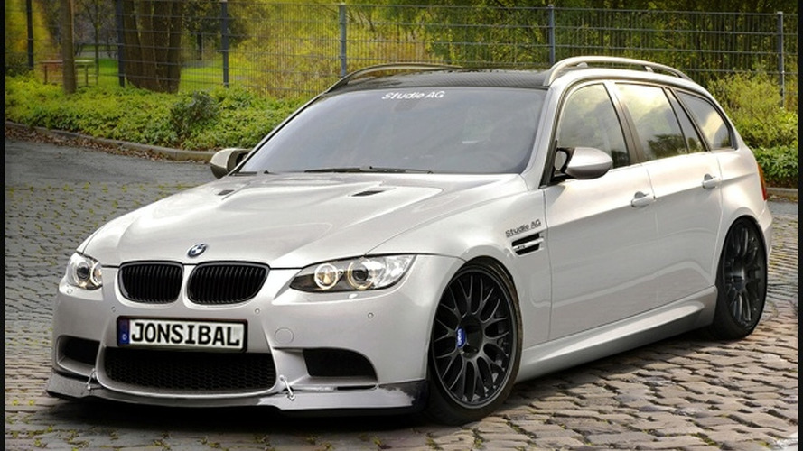 BMW M3 Touring Imaginatively Rendered with Supercharged V8 Engine
