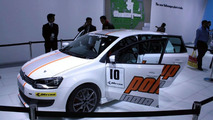 Volkswagen Polo Cup Mk5 race car live at 2010 New Delhi Auto Expo - 1200 - 05.01.2010