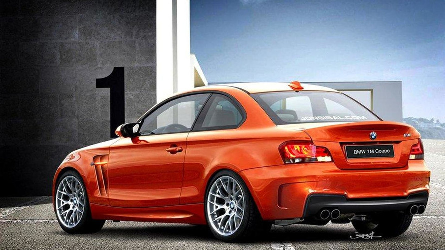 BMW 1-Series M Coupe rendered