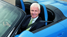 Matthias Müller, the new Chief Executive Officer of Dr. Ing. h.c. F. Porsche AG, Stuttgart 01.10.2010