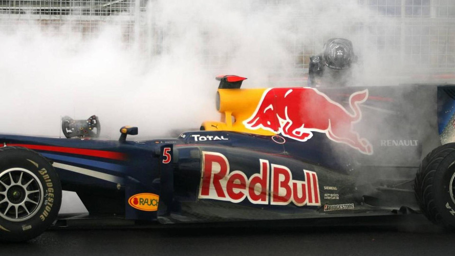 Horner admits Vettel engine situation 'not ideal'