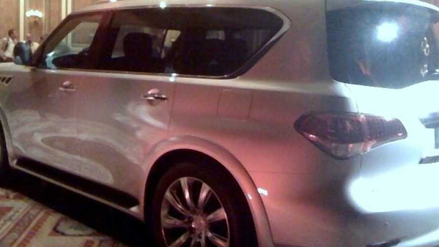 All-New 2011 Infiniti QX56 Announced for New York Auto Show Debut