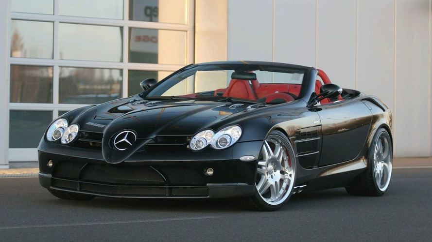 BRABUS SLR Roadster World Debut in Essen