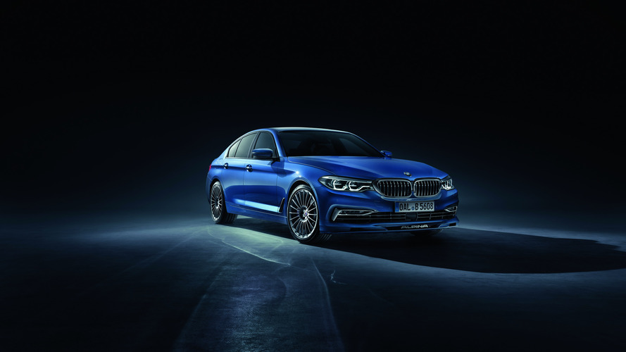 2018 Alpina B5 Bi-Turbo blends elegance with power in Geneva