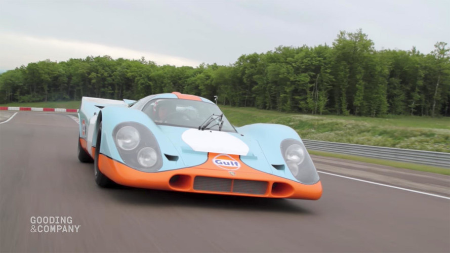Porsche 917K With 'Le Mans' Film Credit Up For Auction