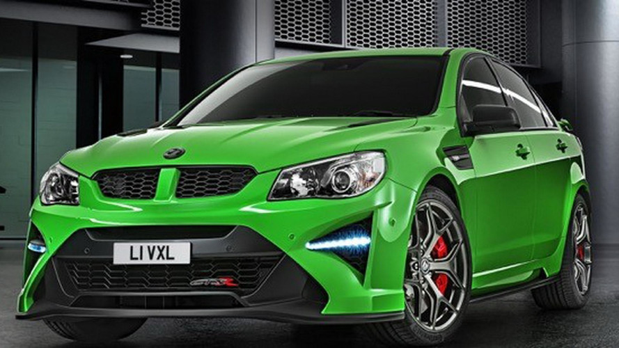 Vauxhall VXR8 GTS-R Is Brand's Most Powerful Car Ever