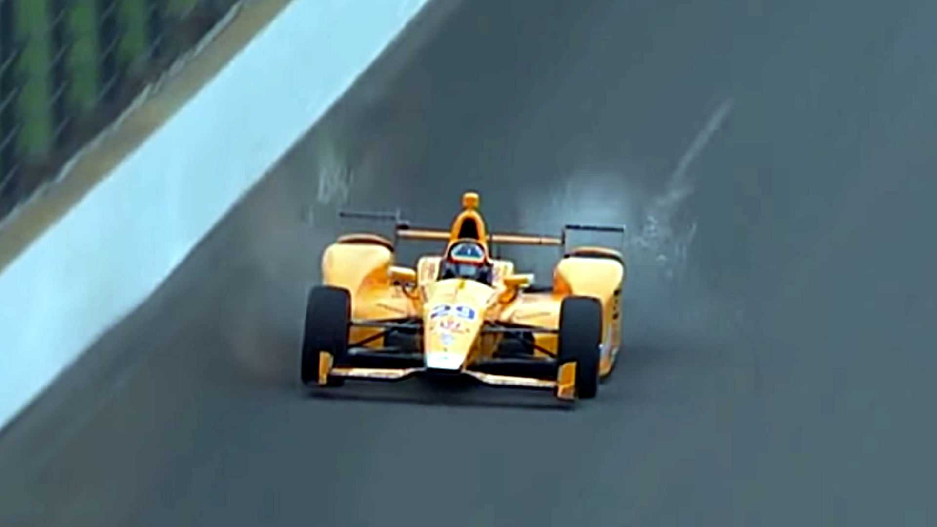 Fernando Alonso Obliterated Two Birds At Once During Indy Testing
