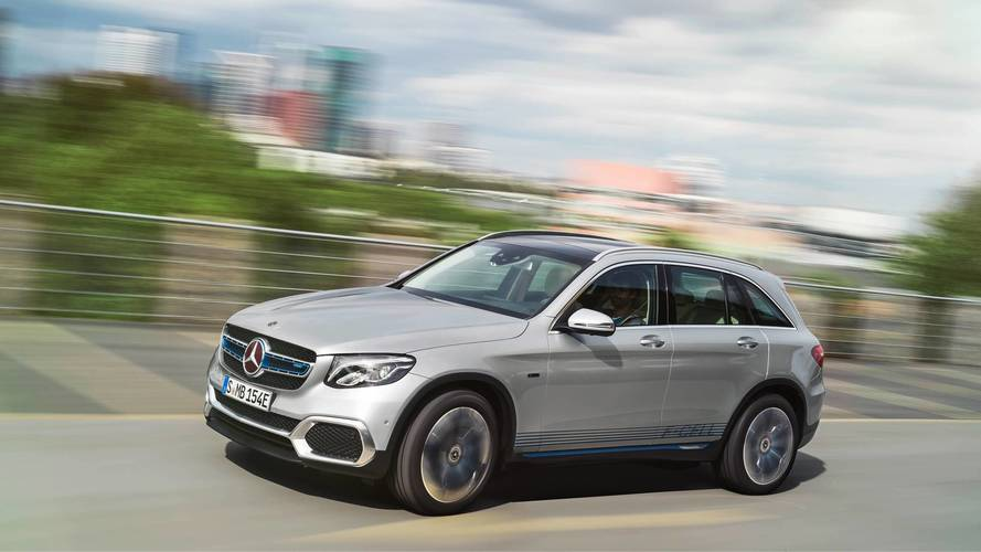 Plug-in hybrid hydrogen Mercedes GLC goes into pre-production