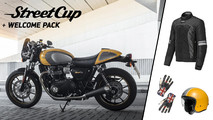 Triumph Street Cup welcome pack