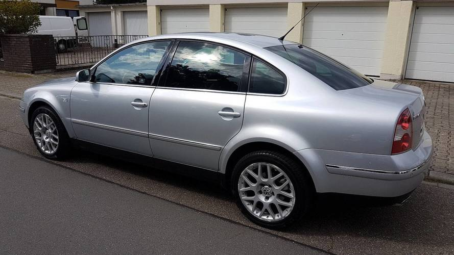 Mint Condition VW Passat W8 With Manual Gearbox Might Tempt You
