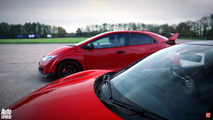 is the civic type r faster than the nsx with a head start. Black Bedroom Furniture Sets. Home Design Ideas