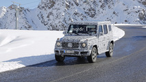 Mercedes Classe G 2018 Photos espions