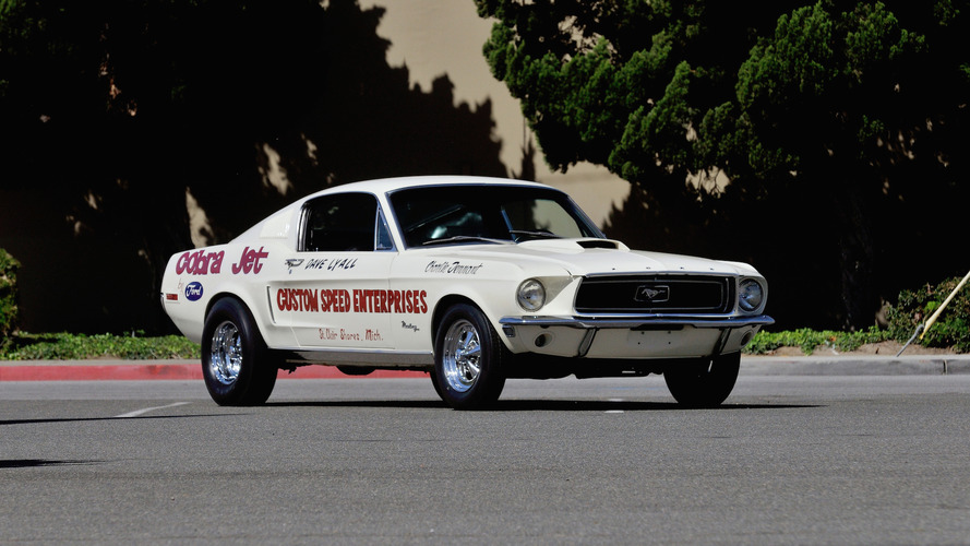 Auction bound 1968 Ford Mustang Cobra Jet is one of just 50