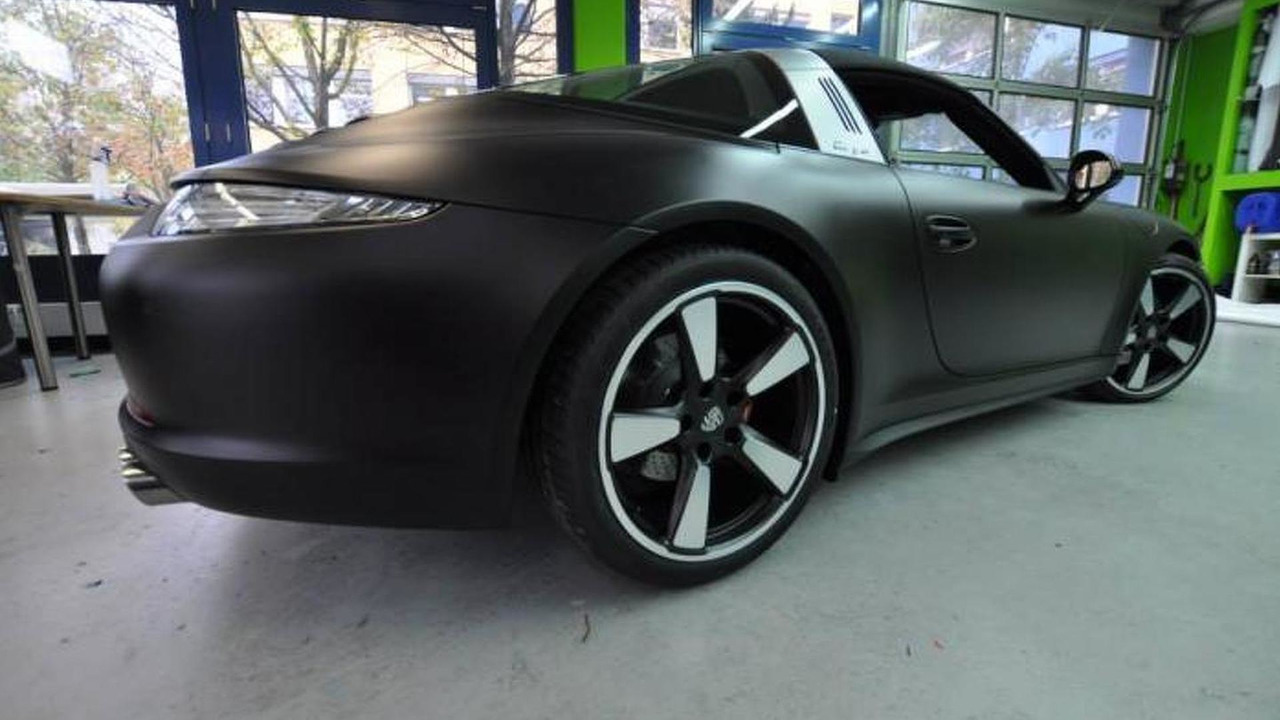 Porsche 991 Targa by Print Tech