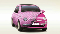 Fiat 500 Show Car Birthday Gift For Barbie