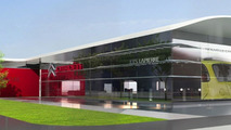 Citroen new brand identity dealership sketches