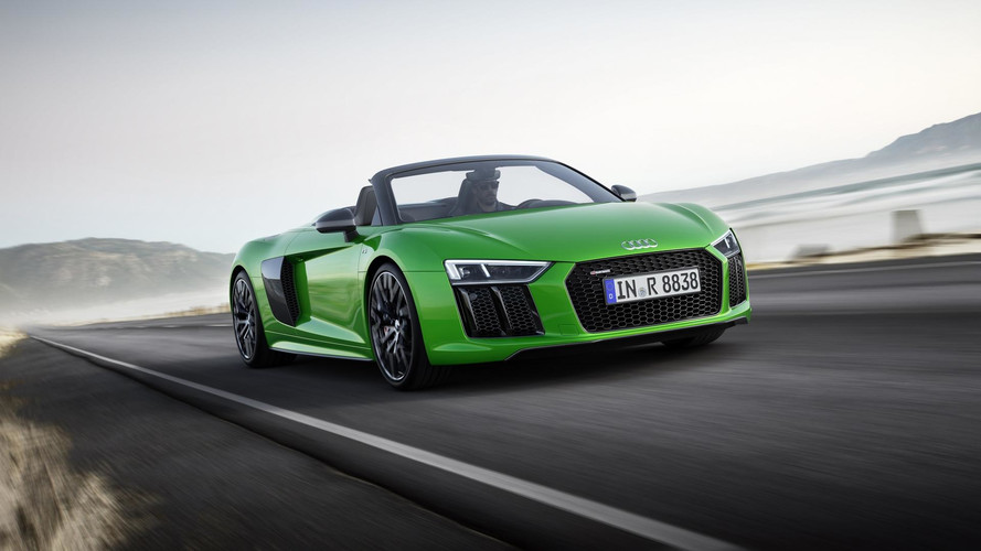Audi R8 Spyder V10 Plus Is Brand's Fastest Convertible Ever Made
