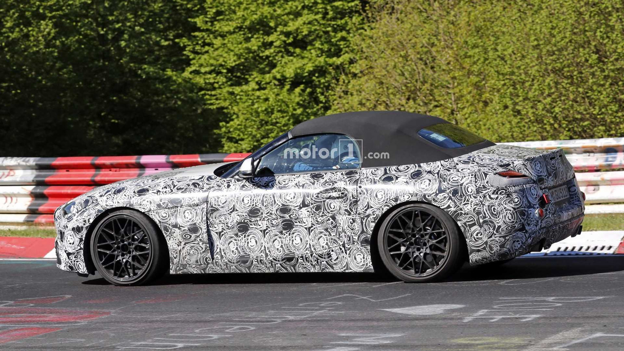 Bmw Z4 Shows Off Its Interior Engine Option In New Spy Photos