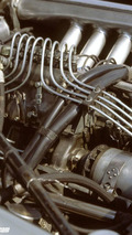 Engine of a Mercedes-Benz 300 SLR