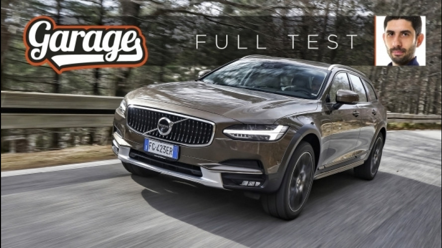 Volvo Cross Country: la prova di V90, V60 e V40 [VIDEO]