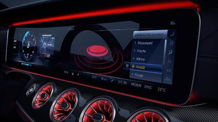 Future Mercedes-Benz CLS Teased With Stylish Cabin