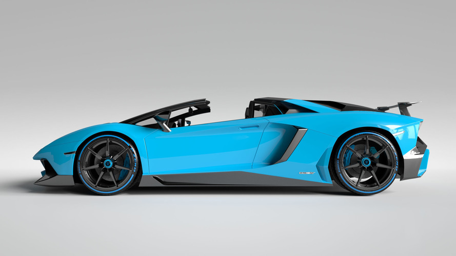 Vitesse AuDessus adds more carbon fibre to Aventador Superveloce