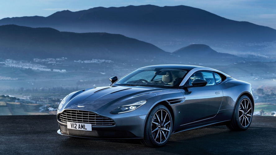 Aston Martin DB11 flaunts sensual design in leaked official pics