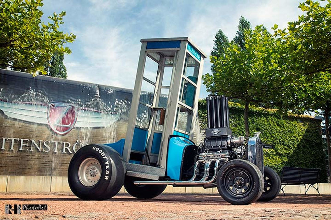 This Ford Hot Rod Might be the World's Fastest Phone Booth