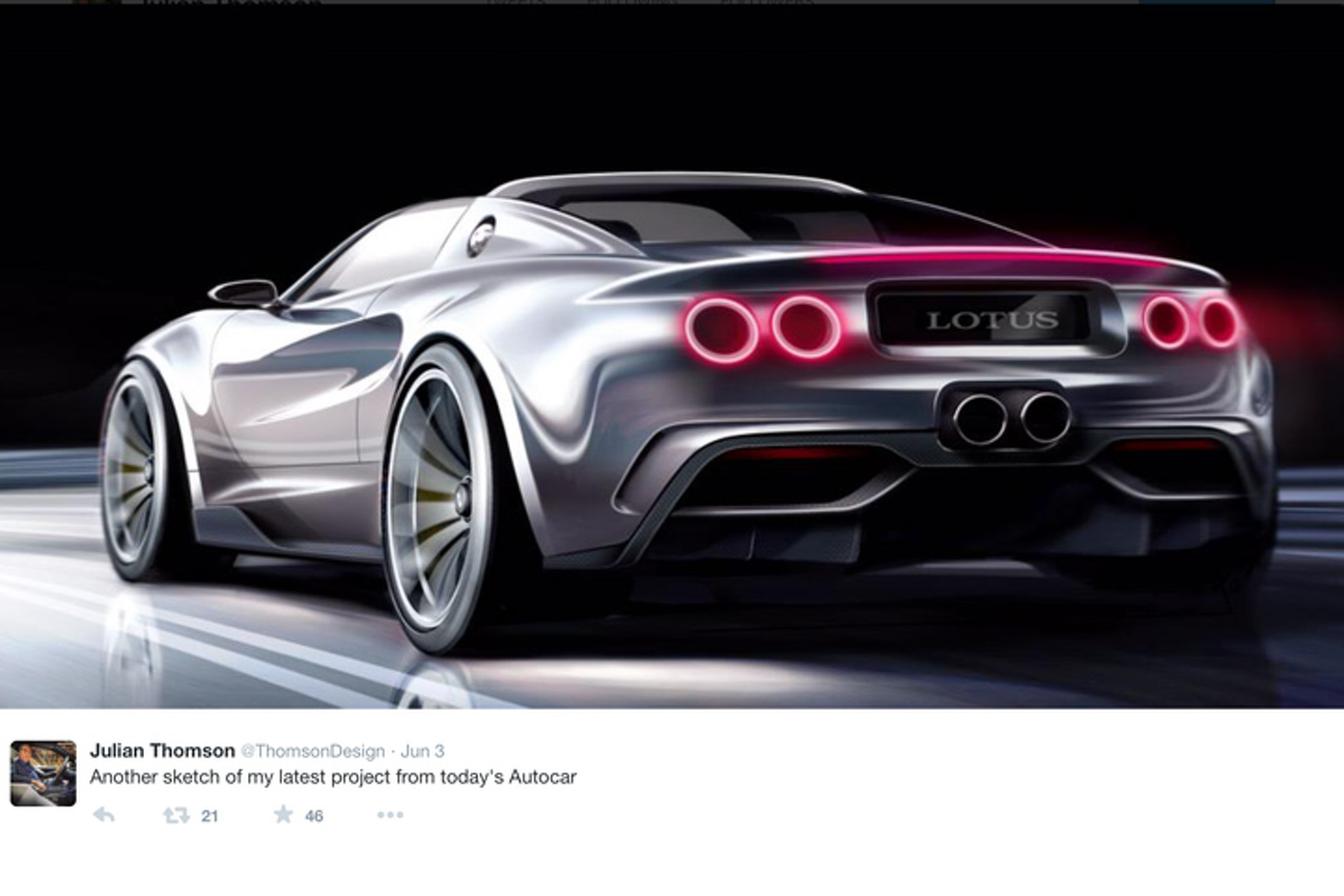 One Jaguar Designer Wants to Create a Lotus Super Elise