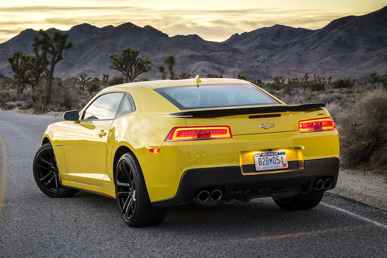 2016 Chevy Camaro Will Get a Turbo Four, 70's Looks
