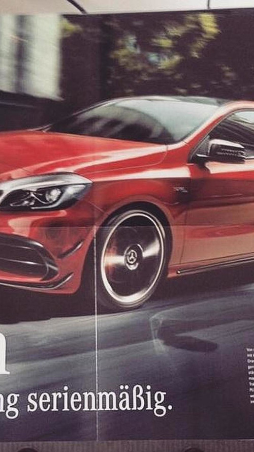 Possible mercedes benz a45 amg official image emerges for Mercedes benz official site usa