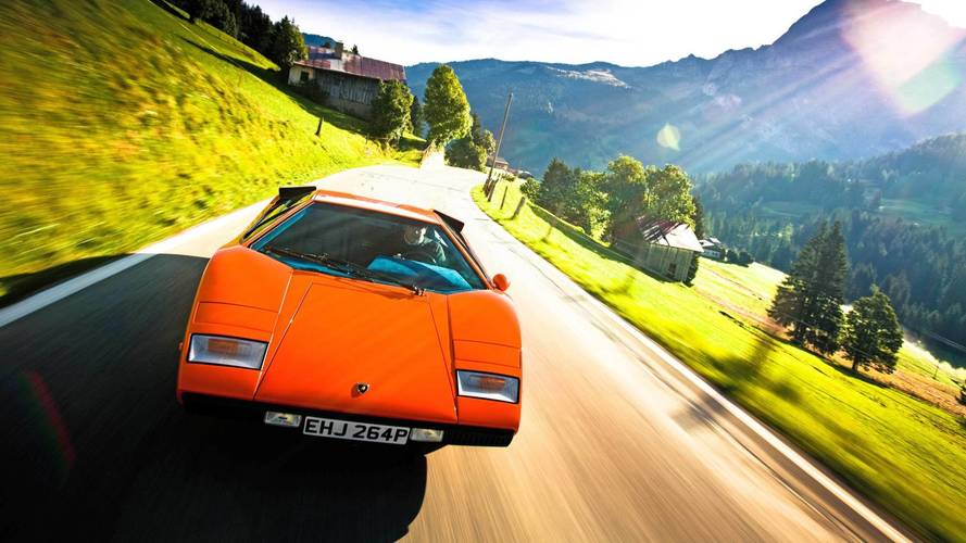 lamborghini countach cannonball run photo. Black Bedroom Furniture Sets. Home Design Ideas