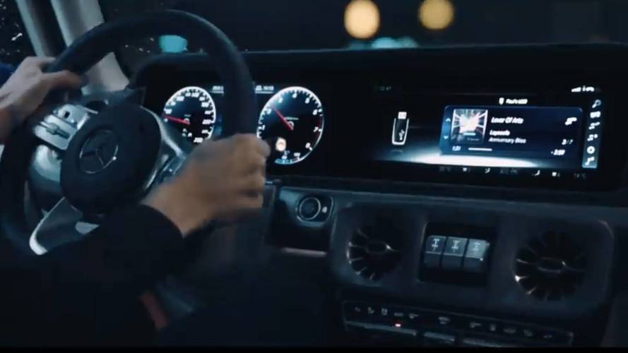 New Mercedes G-Class Teased On Video
