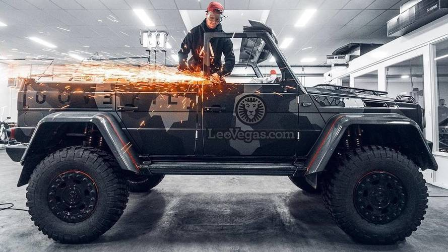 Mercedes G500 4×4² Transformed Into A Convertible Because Why Not