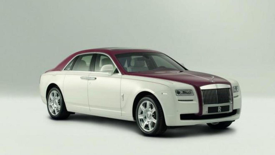 2012 Rolls Royce Ghost One-Off Qatar Edition revealed